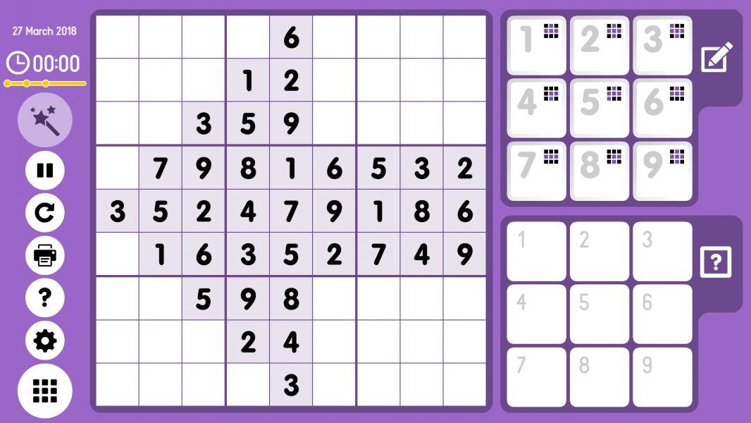 Level 2018-03-27. Online Sudoku