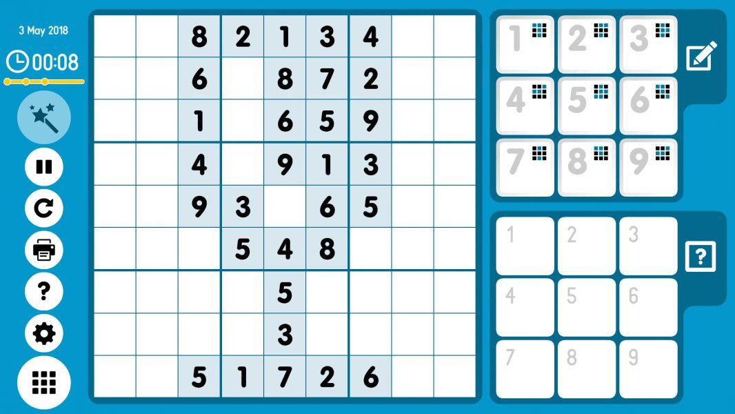 Level 2018-05-03. Online Sudoku