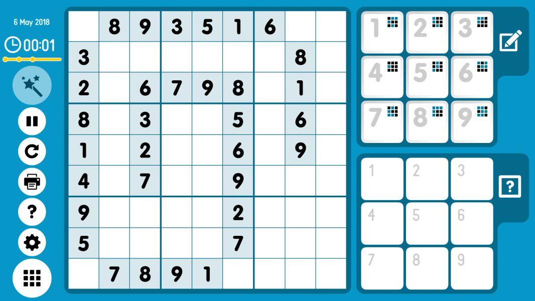 Level 2018-05-06. Online Sudoku