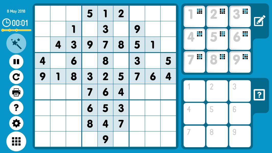 Level 2018-05-08. Online Sudoku