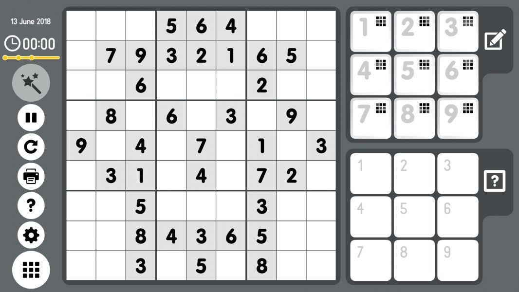 Level 2018-06-13. Online Sudoku