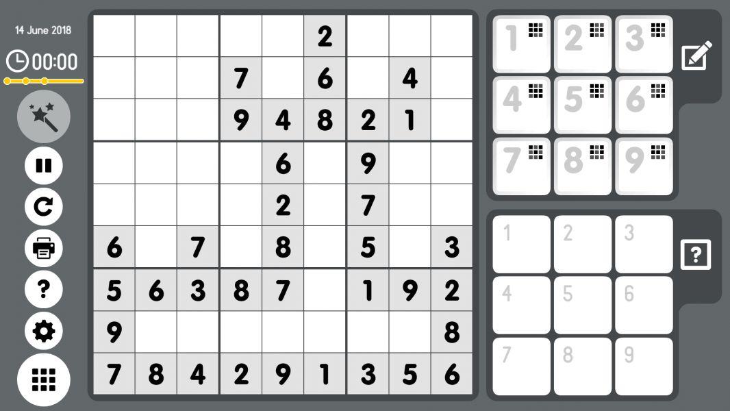 Level 2018-06-14. Online Sudoku