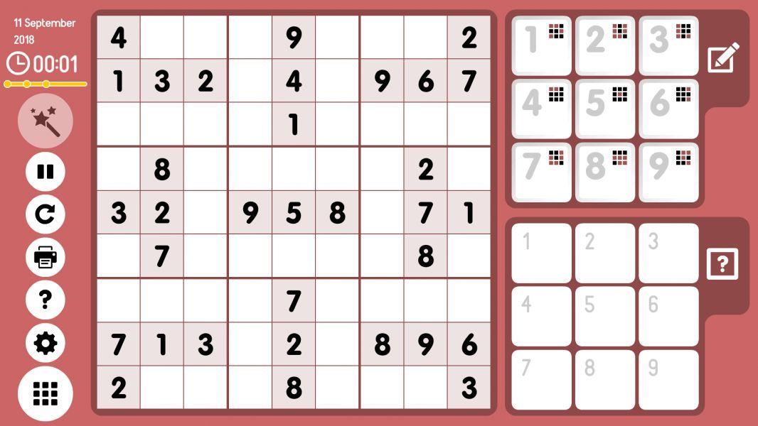 Level 2018-09-11. Online Sudoku