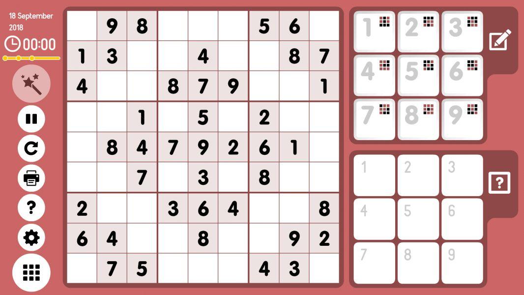 Level 2018-09-18. Online Sudoku