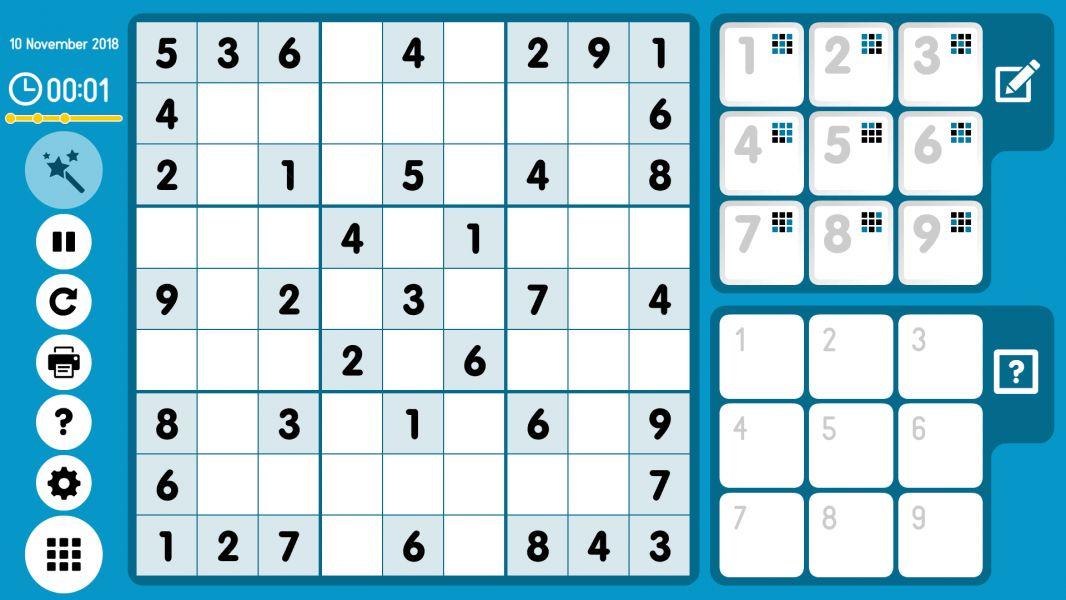 Level 2018-11-10. Online Sudoku