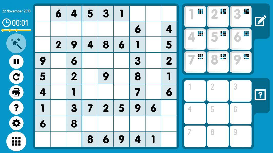 Level 2018-11-22. Online Sudoku