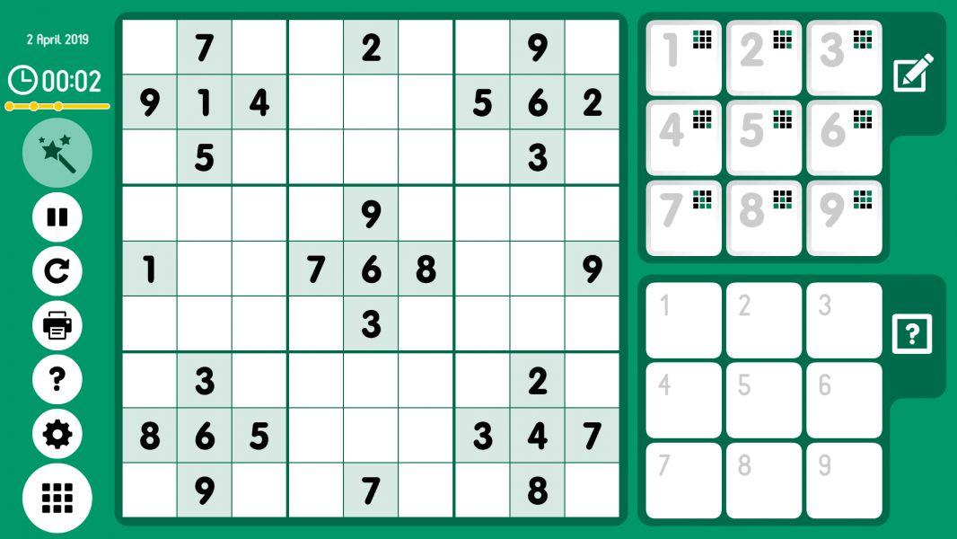 Level 2019-04-02. Online Sudoku