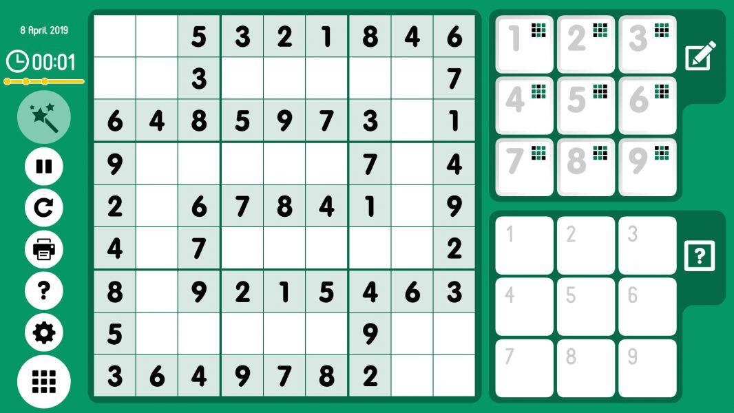 Level 2019-04-08. Online Sudoku